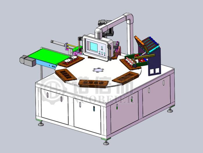 半自动转盘式包装机