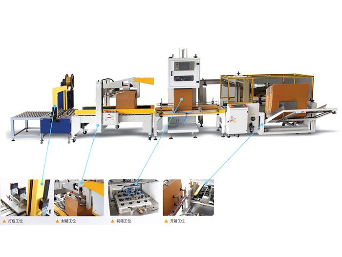 开装封箱自动生产线