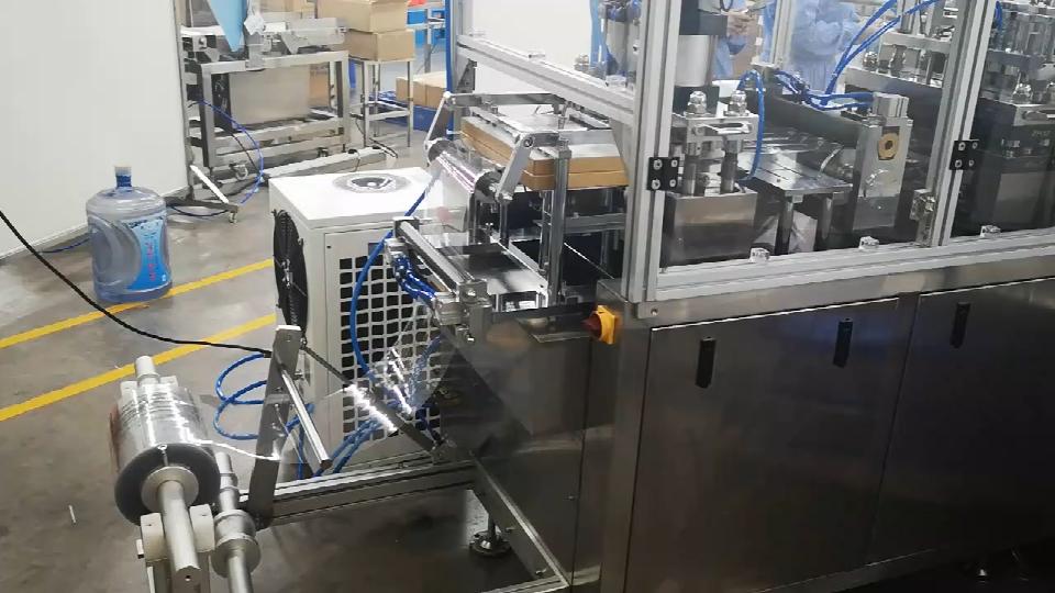 唇膏全自动吸塑包装机